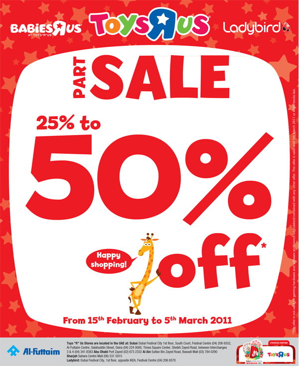 The Toys R Us Part Sale Is Now On Get Up To 50 Off Thousands Of
